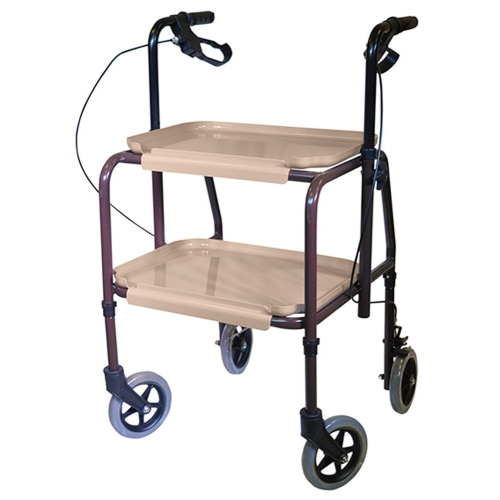 2 Wheel Walking Zimmer Frame