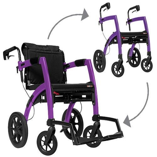 Rollz Motion All In One Rollator Amp Wheelchair Uk