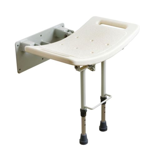 SWALL002, Drive Folding Shower Stool, Wall Mounted Shower Stool, Drive Medical, Drive, Drive Devilbiss, Shower Stool. Bathroom Aid
