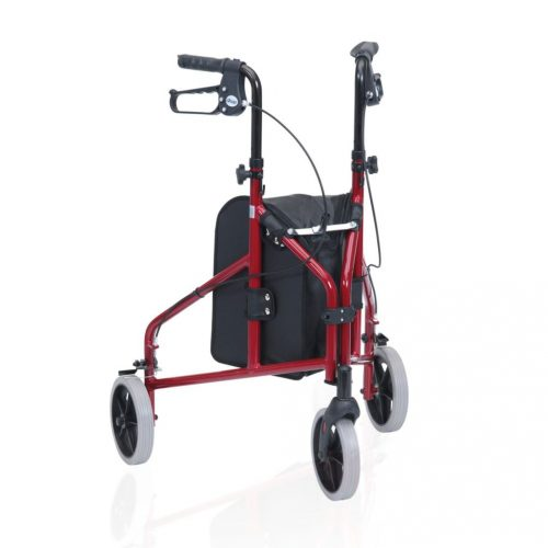 Tri Wheeled Folding Walker