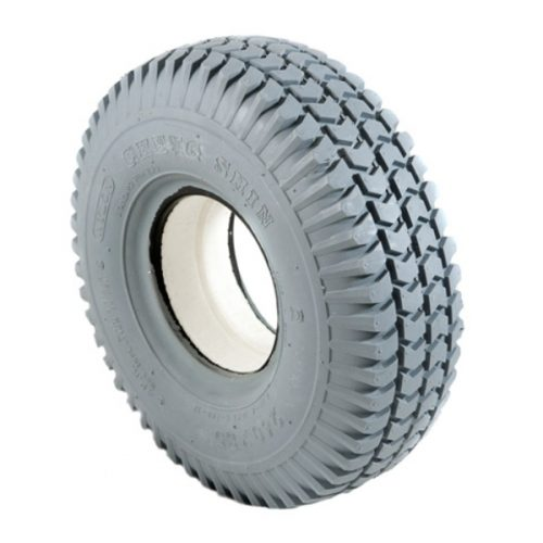 300 x 4 grey tyre solid