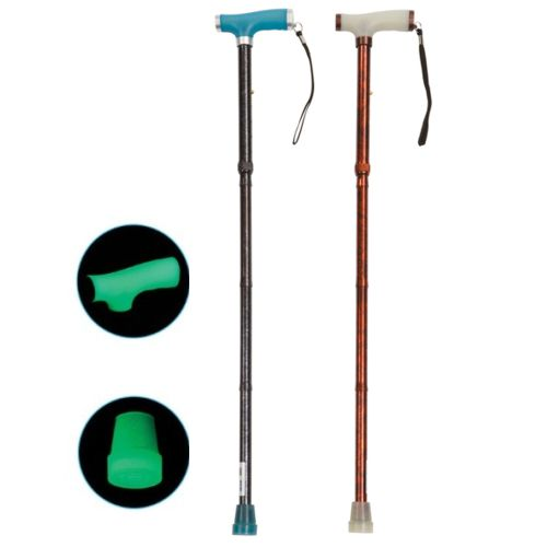 Walking Stick, Walking Cane, Go and Glow Stick, Gel Handle, Gel handle walking stick, glow in the dark, cane, stick, drive devilbiss, drive