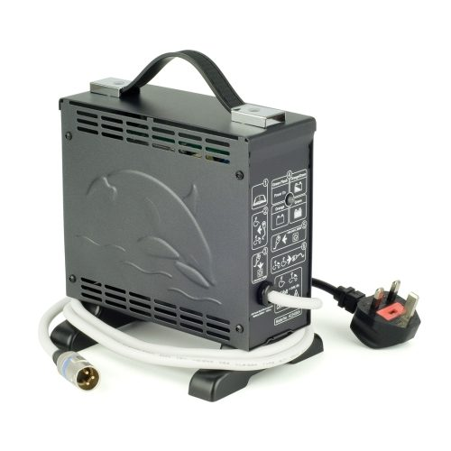 Strident 24V 8 Amp Standing Battery Charger, charges batteries 50amp up to 100amp