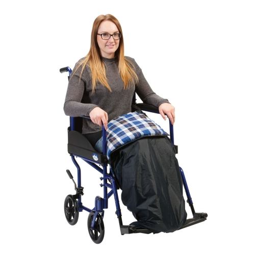 Wheelchair Padded Leg Cosy, Leg Cosy, Drive Devilbiss, Wheelchair Cover, Wheelchair Leg Cover