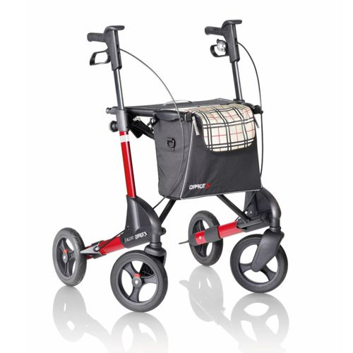 Topro Troja 2G rollator in red