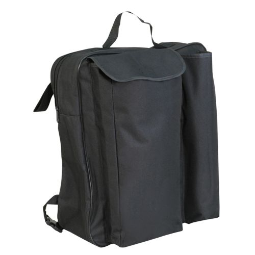 Aidapt storage crutch bag, fits wheelchair and mobility scooter, holds sticks and canes