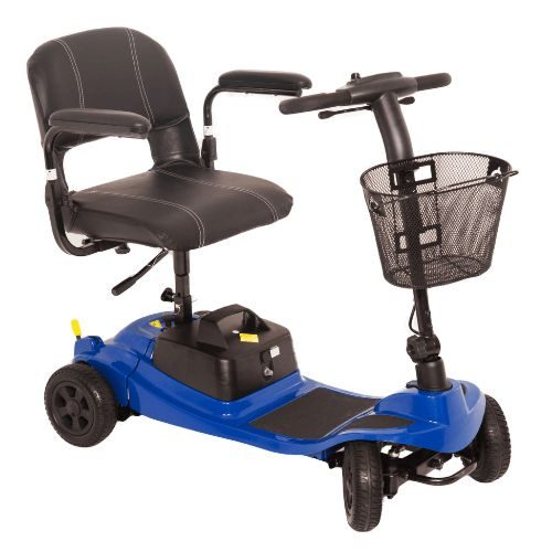 Liberty mobility scooter in the colour blue from One Rehab