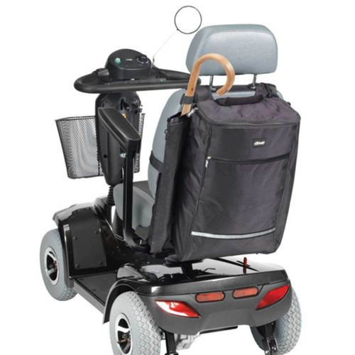 Mobility Scooter Storage Bag With Cane Holder, Drive Devilbiss