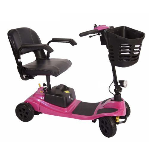 liberty vogue mobility scooter in pink from one rehab