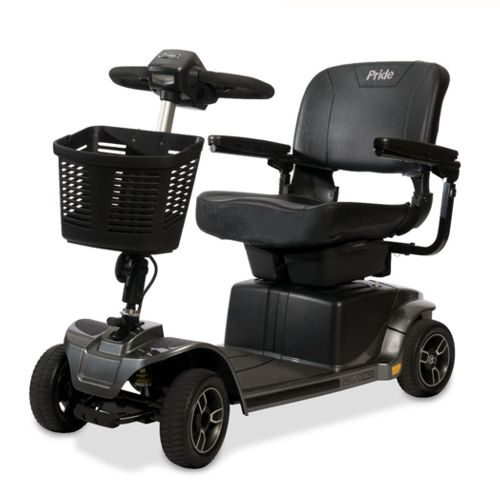 Pride Mobility, Revo 2.0, Electric Mobility Scooter, Grey, Portable Boot Scooter, Dismantles into pieces