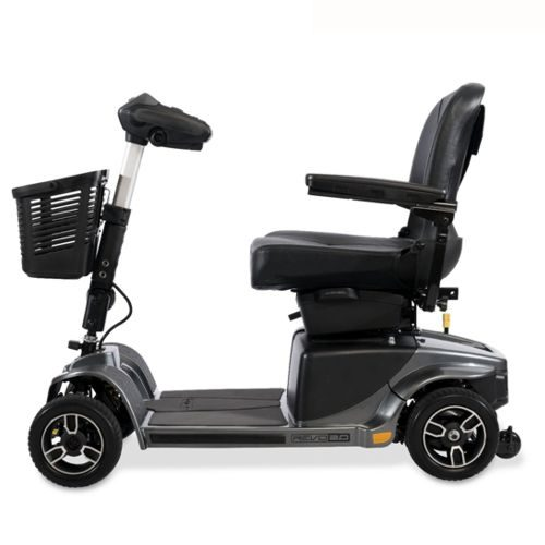 Pride Mobility, Revo 2.0 Electric Mobility Scooter, Grey, 5MPH Speed