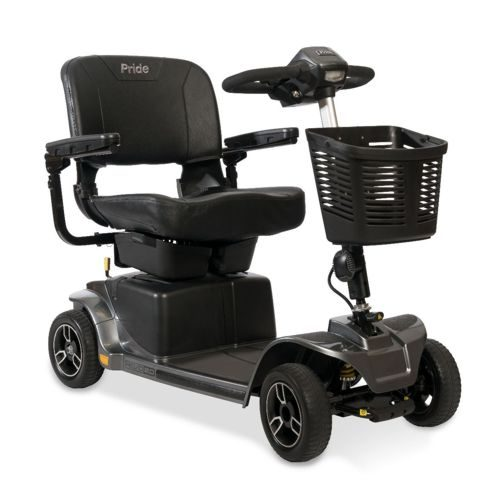 revo 2.0 mobility scooter in the colour grey