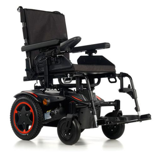 Sunrise Medical, Quickie Salsa Q100R, Electric Wheelchair, Powerchair