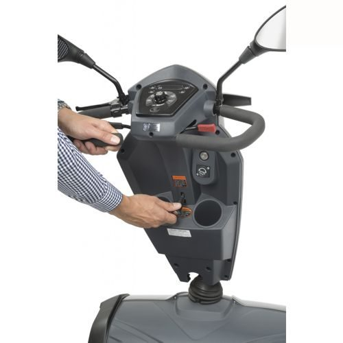TGA, Vita E, Electric Mobility Scooter, Storage Compartment and tiller adjustment