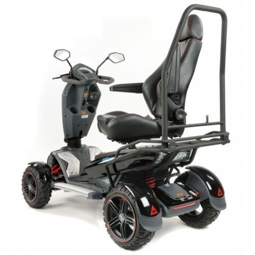 TGA, Vita X, Electric Mobility Scooter, side view with swivel seat