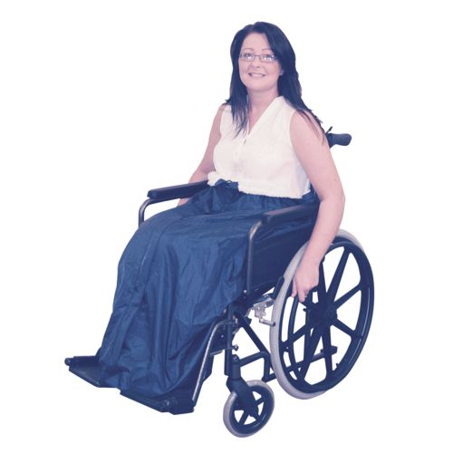 Fleece Lined Wheelchair Cosy, Universal Sizing, Waterproof