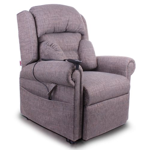 Pride, Essex, Rise and Recline Chair, Dual Motor, Lumbar support, Headrest support