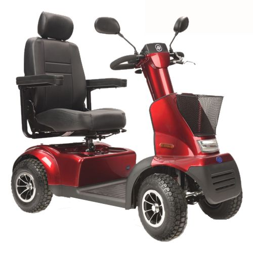 TGA, Red Breeze Midi 4, Electric Mobility Scooter, Compact, Tough, All Terrain