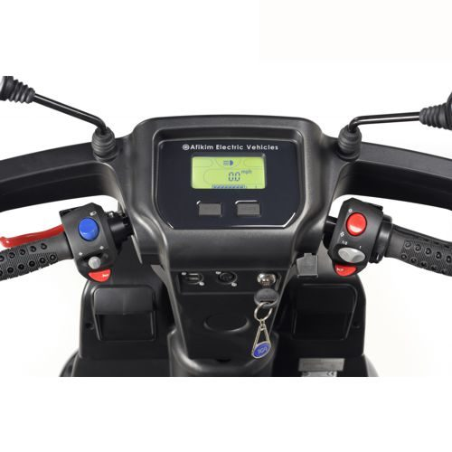 TGA. Breeze S3, Mobility Scooter. Front Dashboard