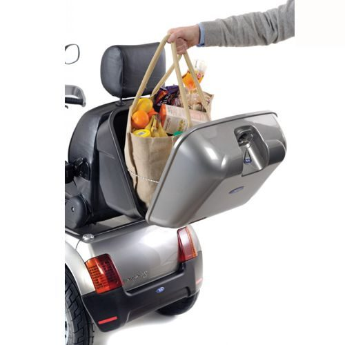 TGA Mobility, Breeze S3 Electric Mobility Scooter, Rear Lockable Storage Basket
