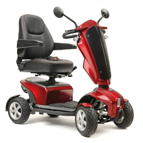 TGA, Vita Lite, Mobility Scooter, 6Mph, 15 miles, 21 stone user weight, Red