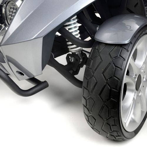TGA, Vita Midi, Electric Mobility Scooter, front wheels and suspension