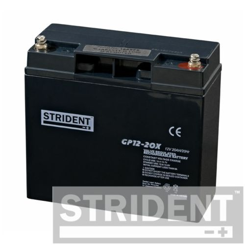 22 Amp Mobility Scooter Battery, Strident, AGM