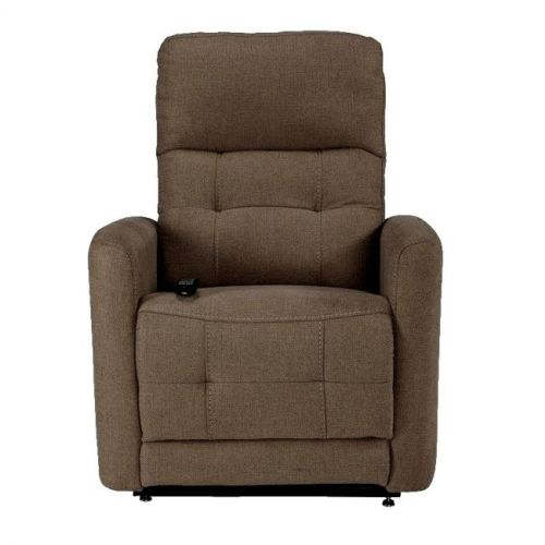 a westminster rise and recliner chair in latte colour