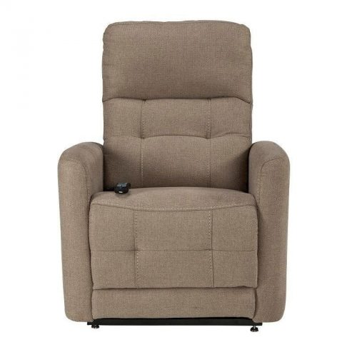 Westminster Riser Recliner in Fawn Colour with Dual Motor controls
