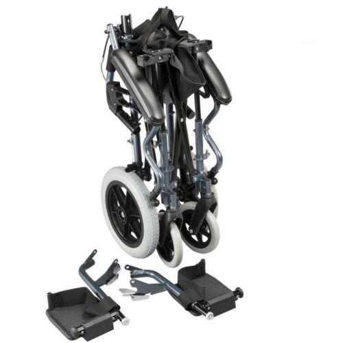 Karma Mobility Bluebird Travel Wheelchair Folded