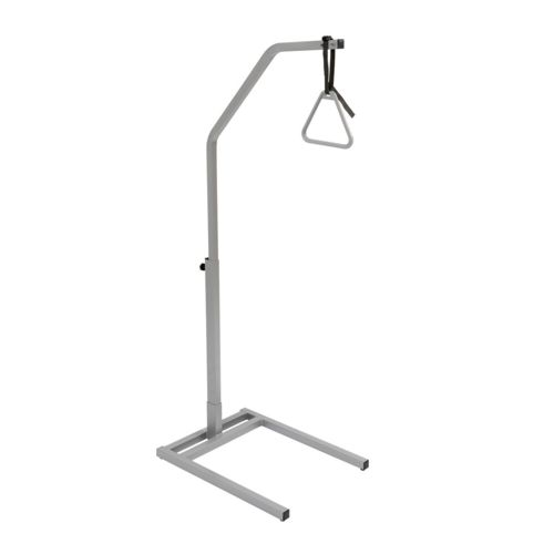 a freestanding hoist to help aid a person into a sitting position