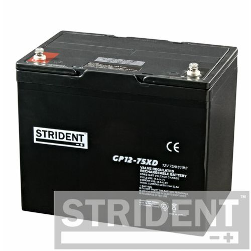 a lead acid mobility scooter battery 75ah
