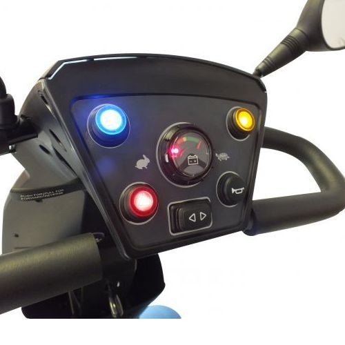 the buttons on a rascal vecta sport