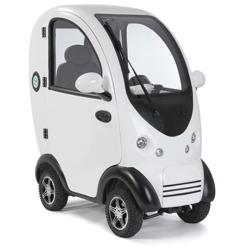Cabin car mobility scooter mk2 version in white