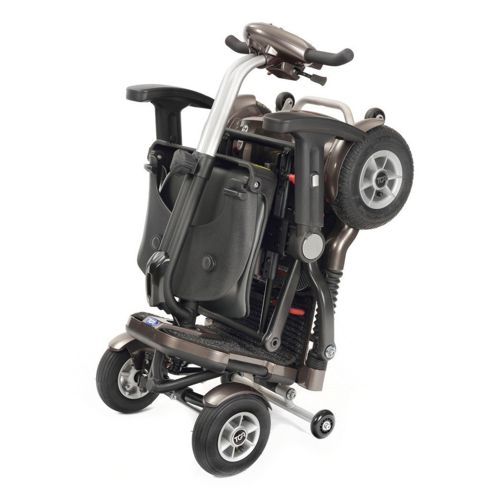 Minimo Plus 4 Folding Mobility Scooter Folded