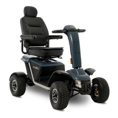 pride ranger mobility scooter in greay